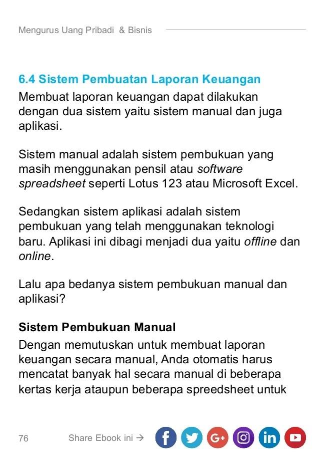 Aplikasi Keuangan Pribadi Excel : aplikasi, keuangan, pribadi, excel, Laporan, Keuangan, Pribadi
