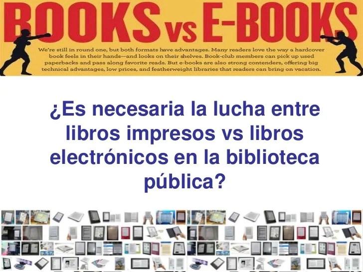 El Caso De Los Ebooks En Las Bibliotecas Públicas