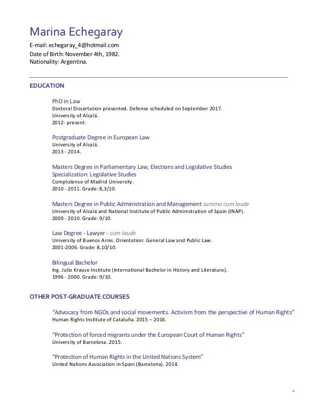 Curriculum Vitae Pronunciation Example Letter Format In Envelope