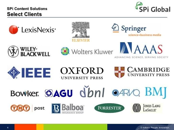 SPi Global  ECPA  solutions Provider