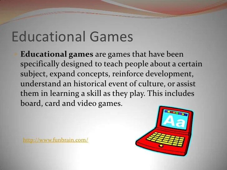 Educational Games And Simulations