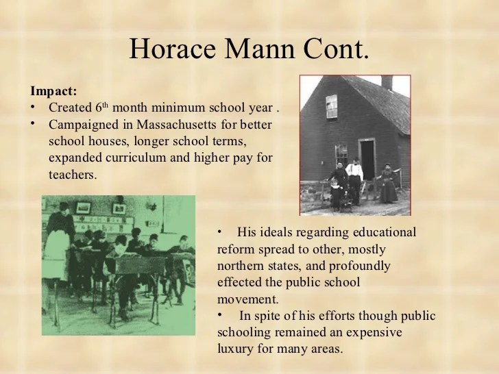 Educational reform 1790 1860