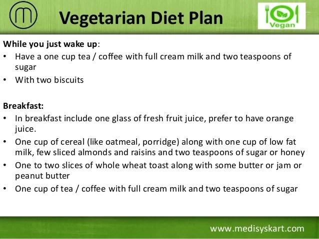 Diet plan also effective to gain weight rh slideshare