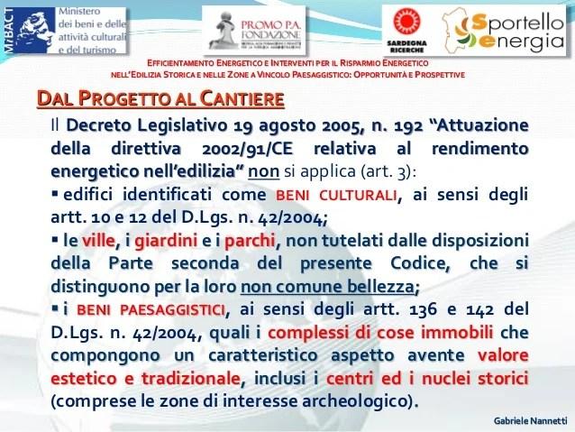 Efficientamento energetico in bioedilizia  Gabriele Nannetti