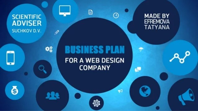 Business plan for a web design company