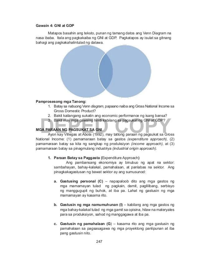 ano ang venn diagram tagalog taco valve wiring imagenes de kahulugan ng gross domestic product 247 deped copy gawain 4 gni at gdp matapos basahin