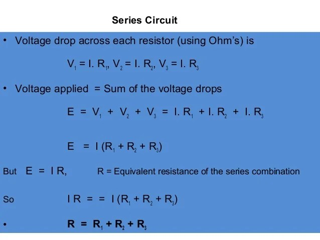 In A Parallel Circuit Multiple Devices Have A Common Power Wire
