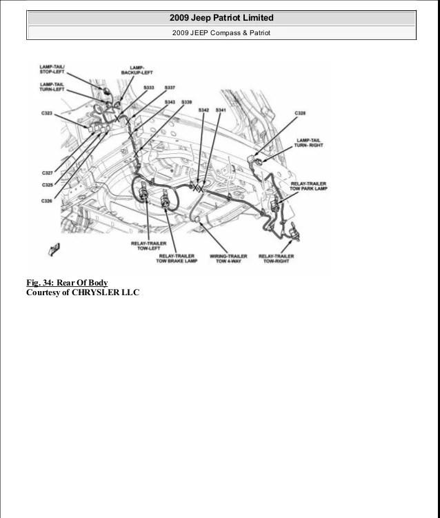 08 Patriot Tail Light Wiring Diagram