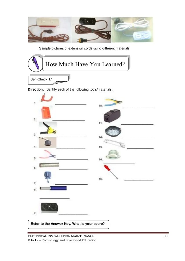Sample House Wiring Material List Pdf Wiring Diagrams All