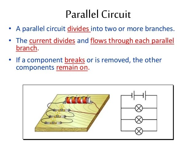 It S A Series Circuit If There Are Branches It S A Parallel Circuit