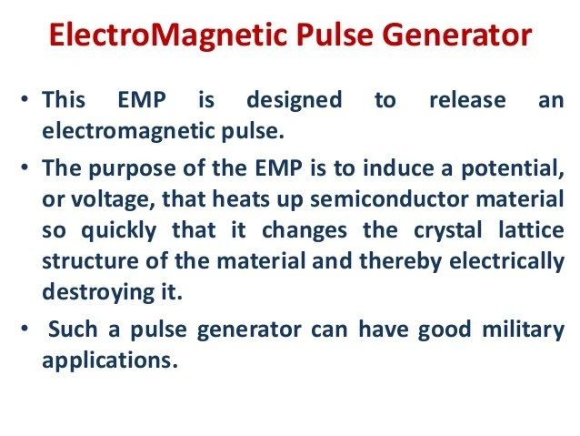 Magnetic Pulse Generator Circuit