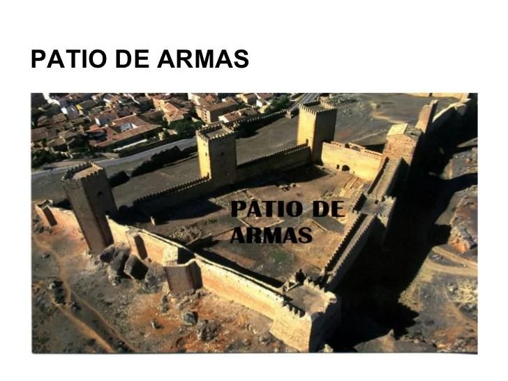 Elementos del castillo medieval