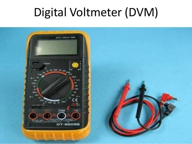 Block Diagram Of Digital Multimeter
