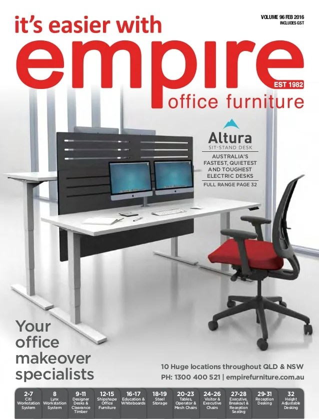office chair qld off white empire furniture brochure