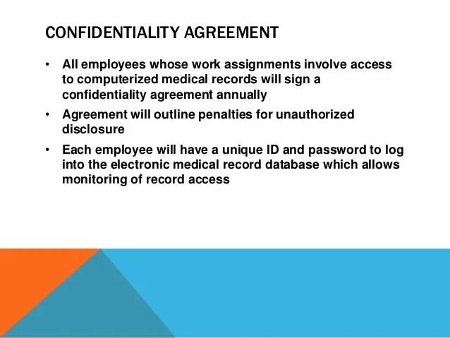 Employee confidentiality training