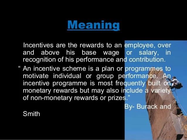 Employee motivationincentives and fringe benefits