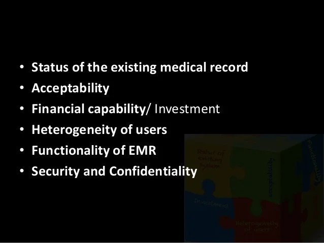 Electronic Medical Records: the now and the future of ...