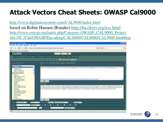 Xss Web Security Application Sql Injection