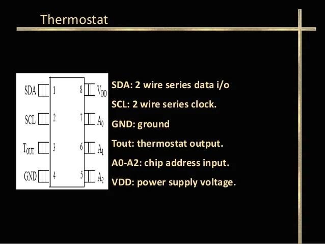 pir sensor wiring diagram 2000 dodge neon stereo energy saving using thermostat 11 sda 2 wire