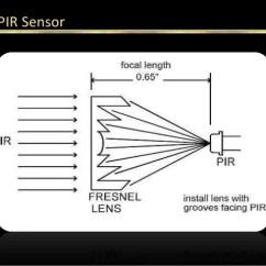 Pir Sensor Wiring Diagram Usb Power Energy Saving Using