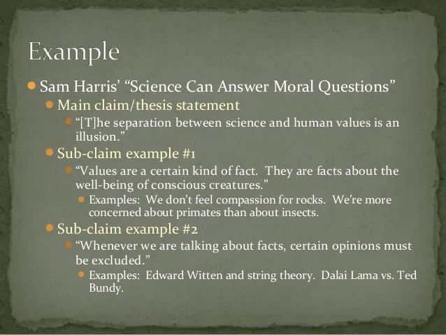 English Claims