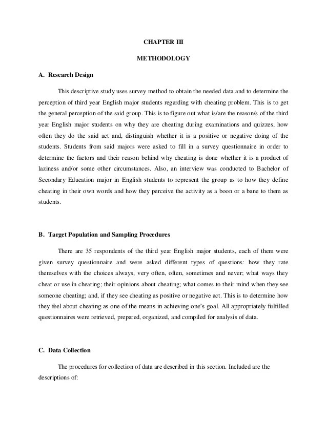Research Paper On Academic Cheating