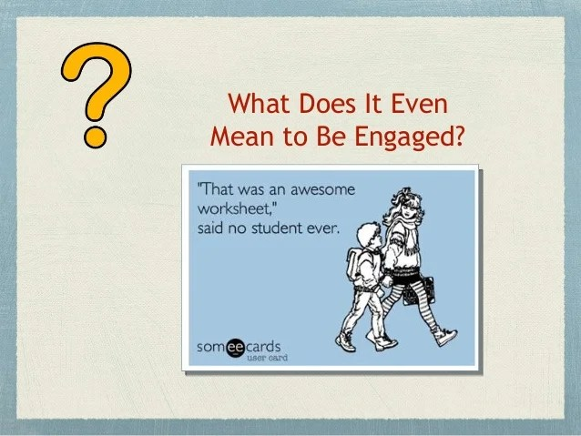 Engaging our Online Students
