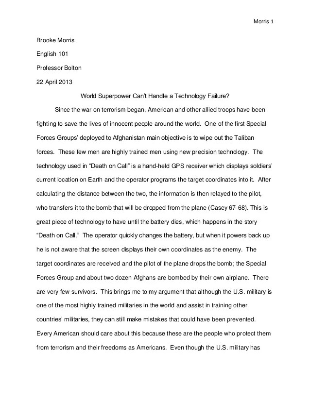 Research Essay Papers How To Write A Research Paper Sample Research