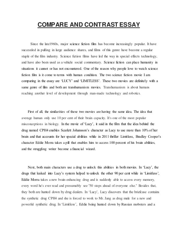 Evolution Essay Assignment