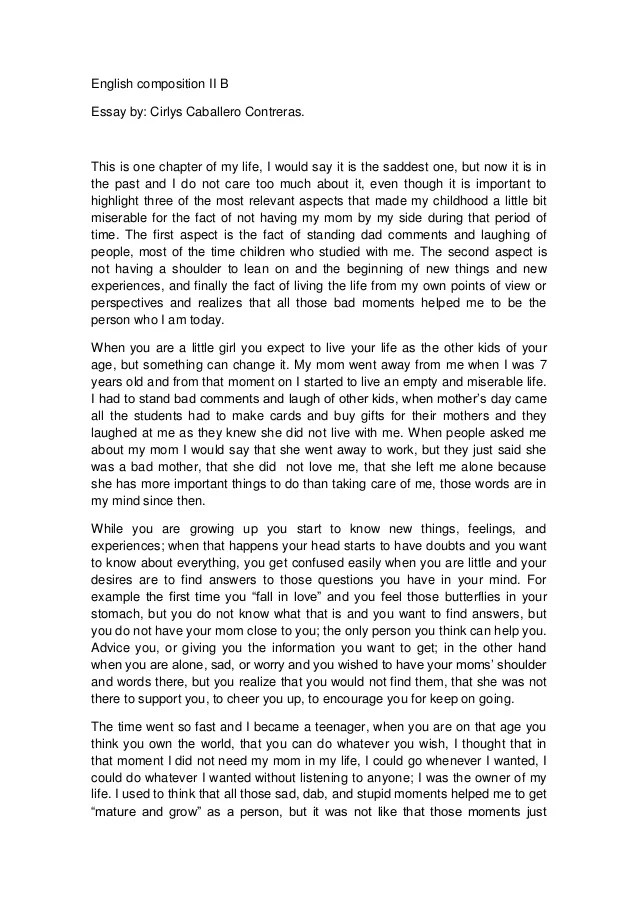 What can i write my personal narrative essay about