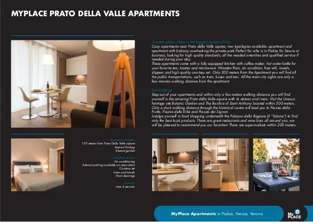 MyPlace Padova vacation rentals homes apartments