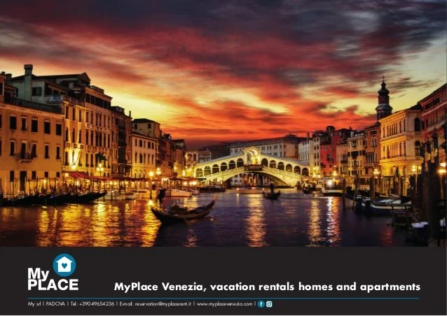 MyPlace Venezia vacation rentals homes apartments