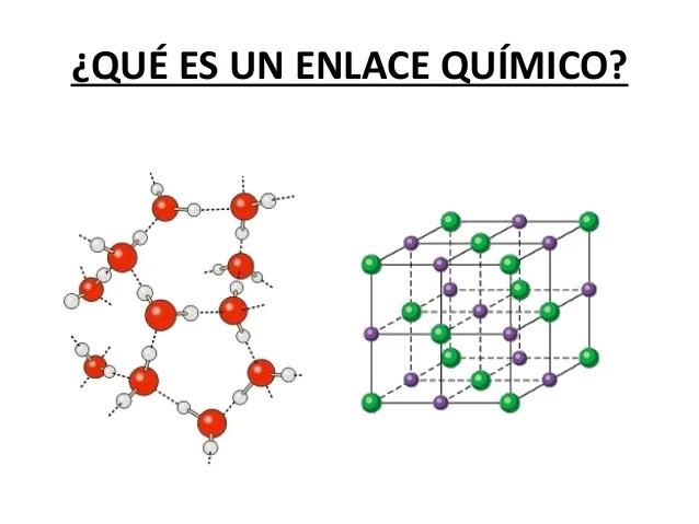 Enlaces Qumicos