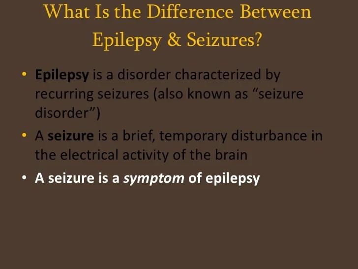 Epilepsy Presentation
