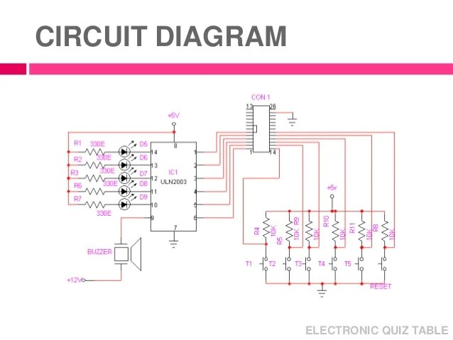 electronics mini projects with circuit diagram razor electric scooter wiring micro processor project electronic quiz table