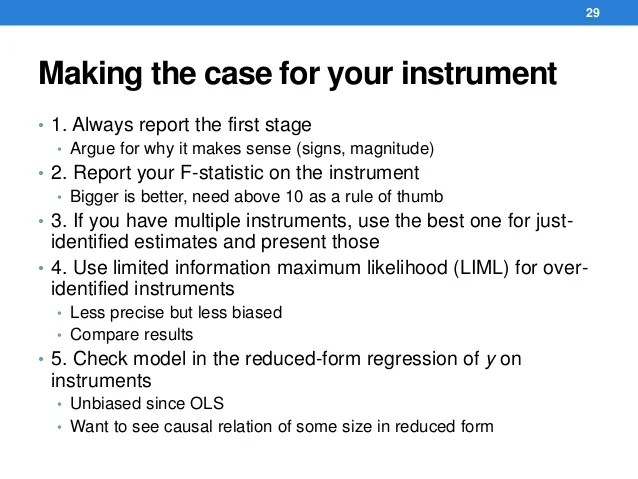 Instrumental Variables and Control Functions