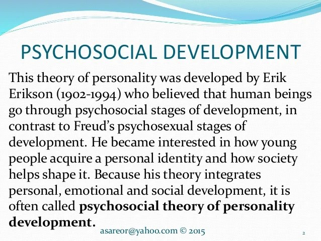 Personal Reflection Erikson S Theory Term Paper Academic Writing Service