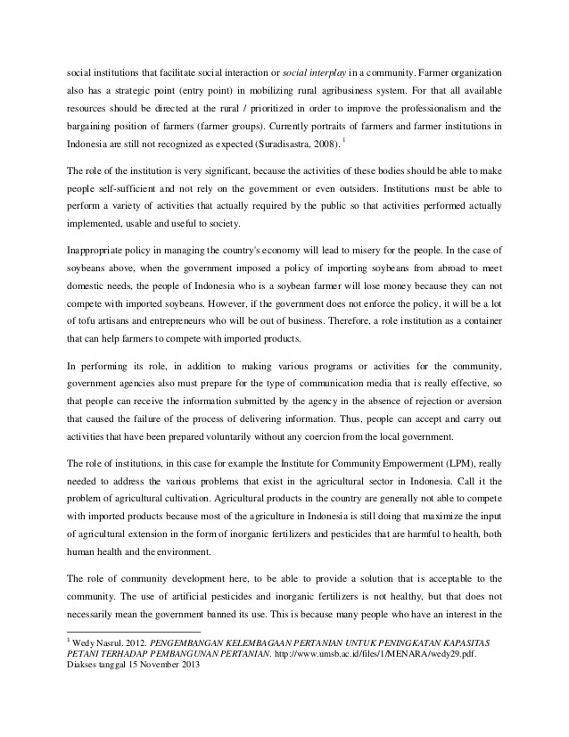 Contoh Essay Bahasa Inggris