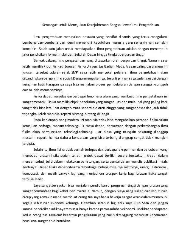 Essay Kse Final