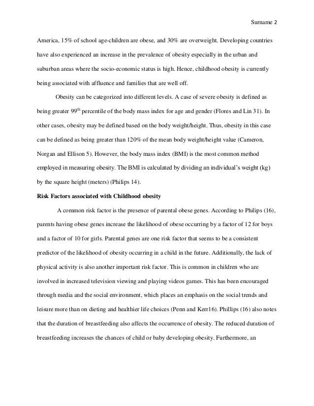 Children Obesity Essay Essay On Childhood Childhood Essay Examples