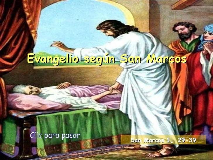 Evangelio San Marcos 4 35 40
