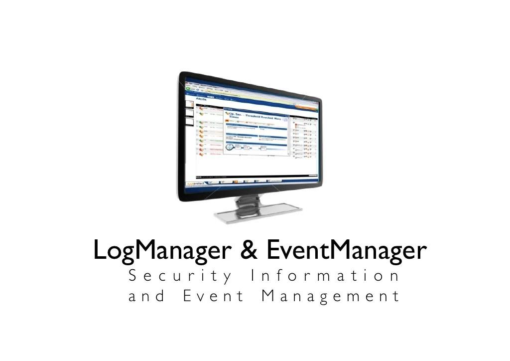 LogManager & EventManager S e