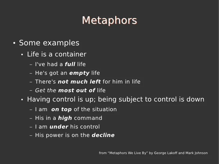 AgilePT'10 Evolving Software Five Powerful Metaphors To