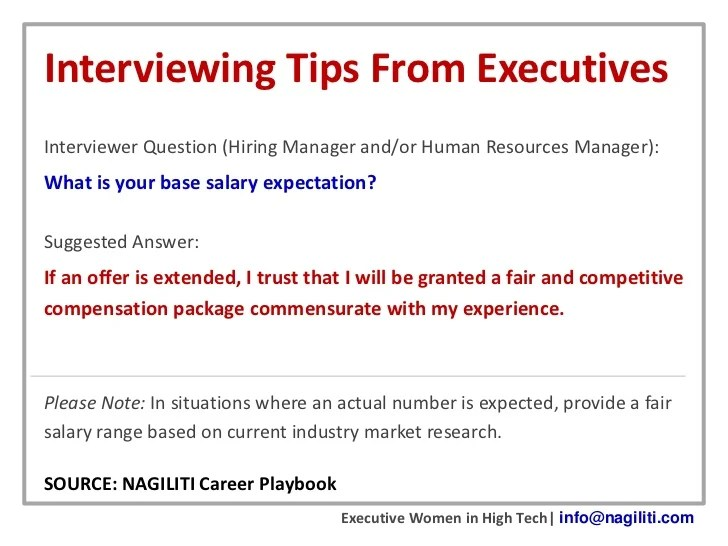 Ammcobus || How to answer salary expectations question in cover letter