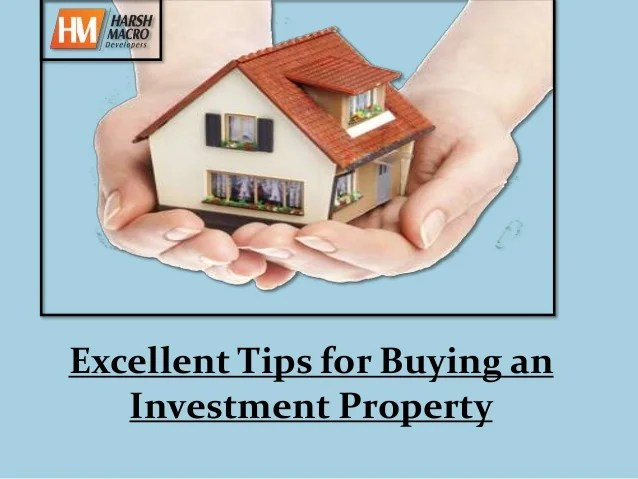 Excellent Tips For Buying An Investment Property