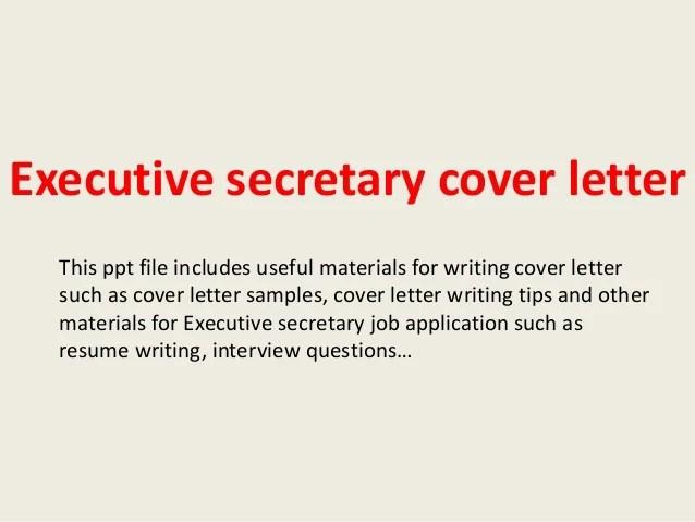 Covering Letter Legal Secretary