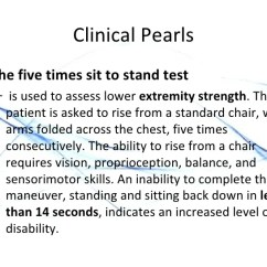 Chair Stand Test Elderly Cheap Baby High Exercise And The 2010 48