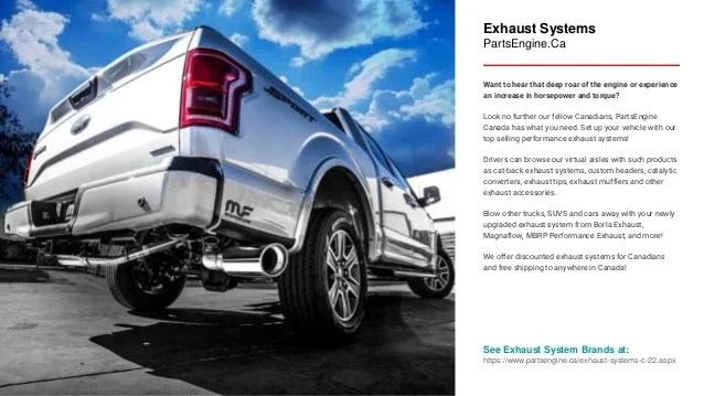 car exhaust systems partsengine