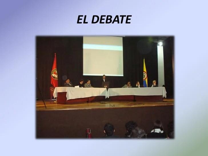 Expo panel mesa redonda debate y foro