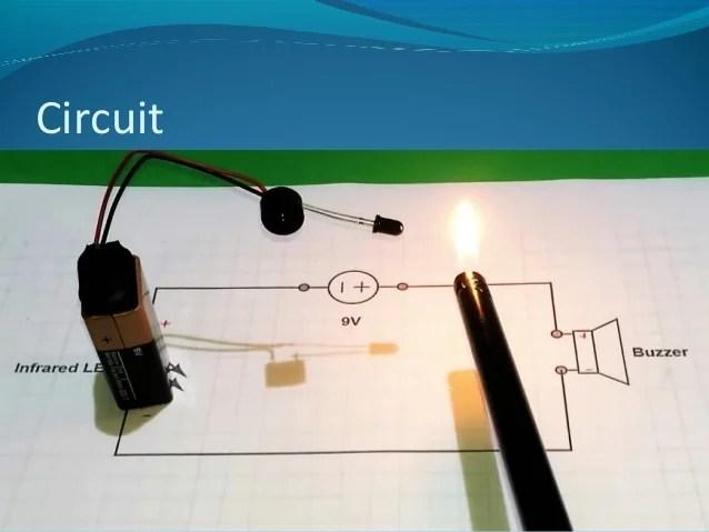 Infrared Burglar Alarm Circuit Diagram Pictures